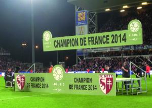Scène - Champion Ligue 2 - 2014